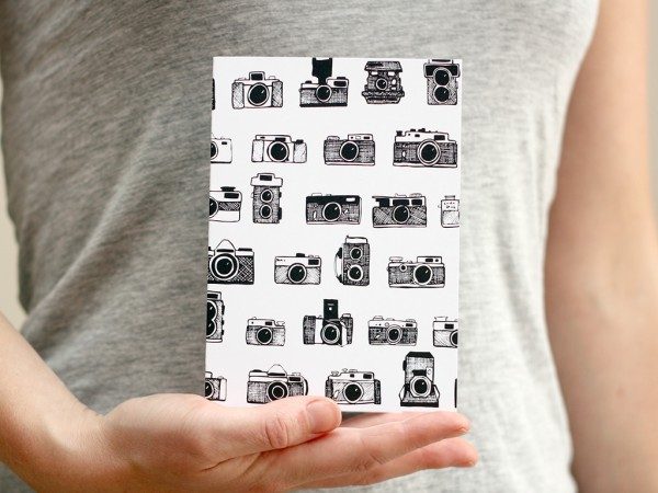 camera shop greetings card