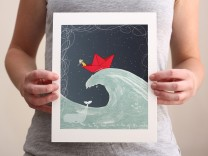 The Tiny Boat giclee print