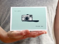camera greetings card