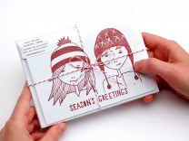 Pack of christmas cards
